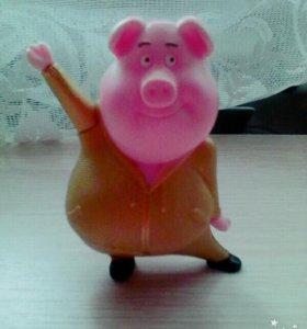 Музыкальная свинка из Зверопоя