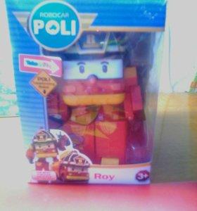 ROBOCAR Poli : робот Рой