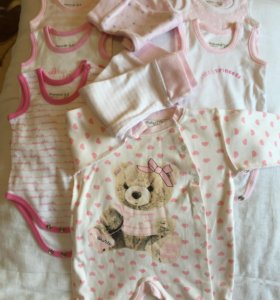 Одежда пакетом для новорожденных