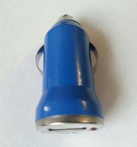 Авто - адаптер USB 1A