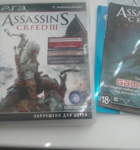 Assassin's creed 3 для пс3
