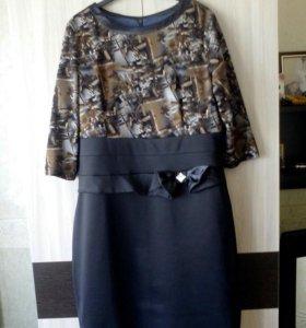 Платье 56р