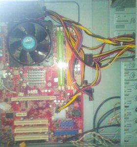 Компьютер на процессере Intel Pentium E4540