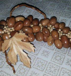 Декоративная виноградная кисть