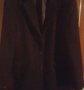 Пальто материал драп