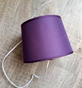 Текстильный абажур (плафон)