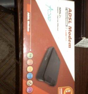 Адсл 2+модем с портом интернет