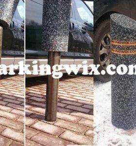 Резиновый чехол накладка на металлический столбик