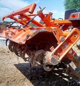 Услуги мини-трактора 4вд, плуг, фреза