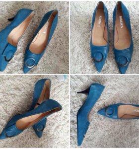 Туфли замша новые
