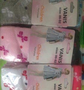 Упаковка детских колготок 6 6 шт. (86-92)