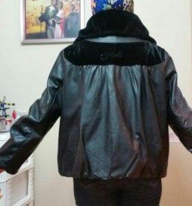 Куртка экокожа 54-56 размер