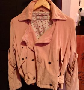 Куртка косуха вельветовая