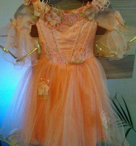 Нарядное платье 2-3 года