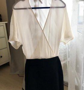 Платье Zara шелк