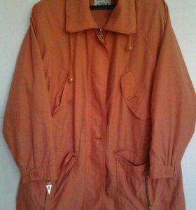 Куртка удлиненная,легкая