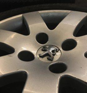 Колеса Peugheot 308 шины Michelin  Д16; 205/55.