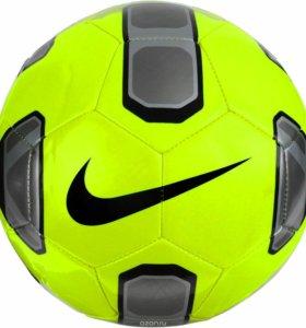 """Мяч футбольный Nike """"Stadium"""", цвет: салатовый, че"""