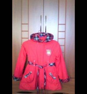 Детское пальто на 6-7 лет