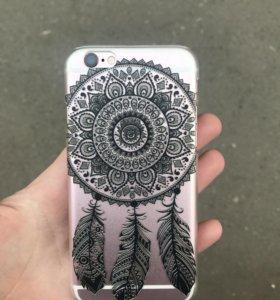 Красивый чехол на iPhone айфон 7 ,6,6s