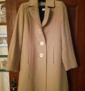 Пальто, кашемир, 46,
