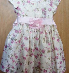 Платье для девочки на 1-1,5год