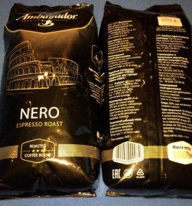 1кг кофе зерно Ambassador Nero Espresso Roast