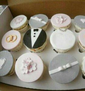 Кексы;десерты;кейкпопсы на заказ!