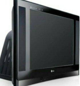Телевизор LG Super slim+DVD+trikolor tv