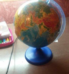 Продам глобус
