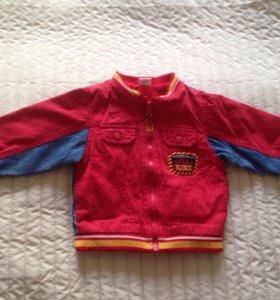 Куртка джинсовая 86р-р