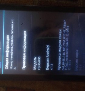 Телефон Fly iQ4490
