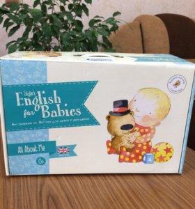Комплект для обучения детей английскому языку с 0+
