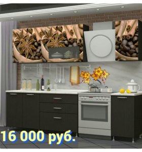 Кухня МДФ с фотопечатью