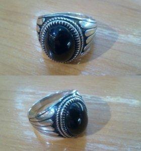 Кольцо печатка серебро