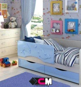 Детская кровать(новая)