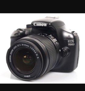 Зеркальный фотоаппарат Canon eos d1100