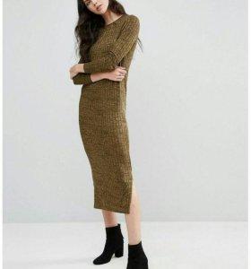 Новое трикотажное платье Vero moda