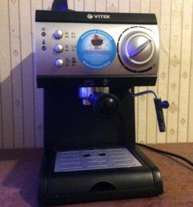 Кофе машина vitek ,новая с гарантией