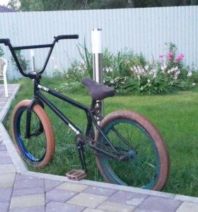 Бмх велосипед, bmx, трюковой велосипед