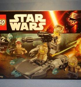 Лего Спидер сопротивления ( батлпак ) 75131