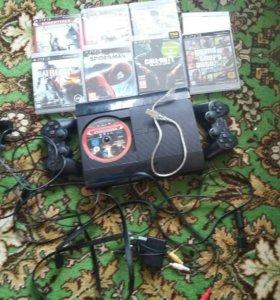 Play Station 3 + игры