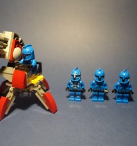Лего звездные войны, турель гвардейцев 75088