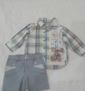 Рубашка ORCHESTRA и шорты CHOUPETTE