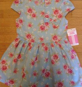 Платье размер 4-5 лет новое