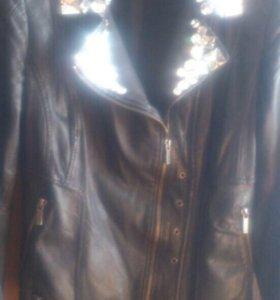 Кожаная куртка (натуральная) 🙌