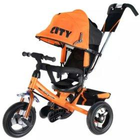 City детский трехколесный велосипед.