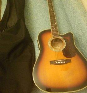 Электроакустическая гитара euphony с чехлом