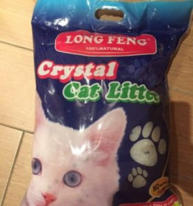 Наполнитель для туалета Long Feng Crystal 4 кг