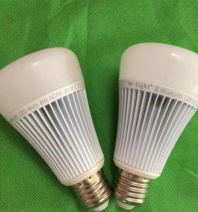 LED 8вт Bluetooch Умная лампа